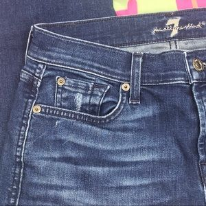 7 For All Mankind Jeans - 7 For All Mankind the Ankle Skinny size 25